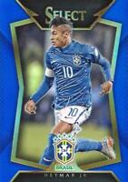 2015 Panini Select Soccer Base Common Blue Parallel Variation #d /299 - (21-40)