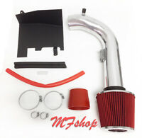 Red For 2013-2017 Nissan Altima 2.5L L4 Heat Shield Cold Air Intake + Filter