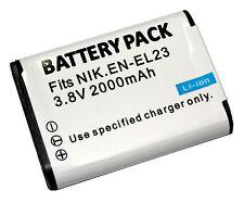 EN-EL23 Camera Battery pack for Nikon CoolPix P600 P610S S810c P900S S810 P900