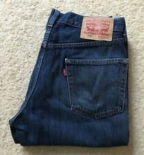 Levis 506 indigo blue straight leg denim jeans W 31 L 32