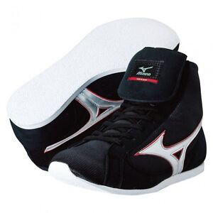 Mizuno Boxing Shoes EF-FOT Model Black 36KB300 Made in JAPAN EMS With Tracking