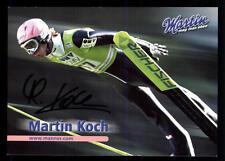 Martin Koch Autogrammkarte Ski Nordisch Original Signiert +57989