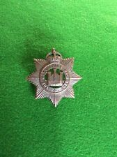 The Devonshire Regiment, Blackened Brass Metal ?Officer's Cap Badge