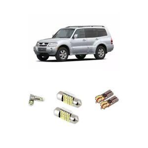 12pcs Led Plates Boot Parkers Kit For Mitsubishi Pajero NM NP 00-06