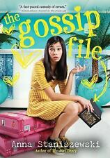 The Gossip File by Anna Staniszewski Paperback English