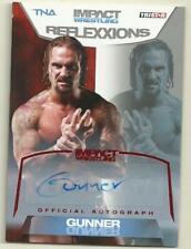 2012 Tristar TNA Reflexxions Gunner Red Autograph #12/25