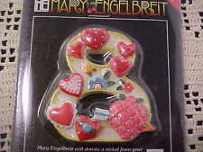 "Magnet Number 8 Heart Motif Mary Engelbreit 2"" Tall Great Gift Birthday Age New"