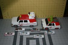 Ghostbusters Lot of 8 Ecto-1 Vehicles: Funko, die-cast, Electric Glowing Slimer