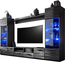 Extreme Furniture Living Room Set Tv Unit Cabinet Furniture Cupboard Stand Gloss