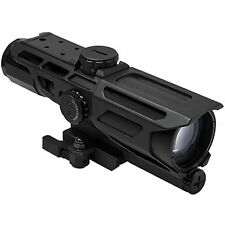 NcSTAR GEN3 Mark III Tactical 3-9X40 Rifle Weaver QR Rail Illuminated Scope