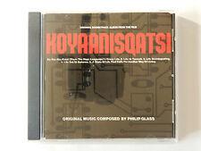 CD Koyaanisqatsi Philip Glass Original Soundtrack Album from the Film