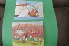 Disney - ST. Vincent - 4-Souvenir Sheets