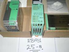 Three Phoenix Contact Power Supplies