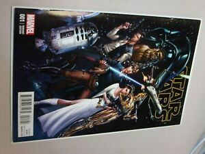 STAR WARS 1 VOL 2 RARE J SCOTT CAMPBELL CONNECTING A 1:50 VARIANT NM+