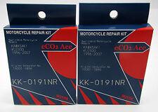 2 x KLE500  1996-2007 Carb Repair and Part Kits