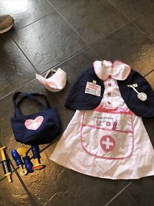 Girls Nurse Fancy Dress Up Costume & Accessories Age 3 4 5 Years