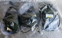 3x TCI Tactical Command Industries Head Set Field Gear DC 1351 Used PAT 2/2 AMC