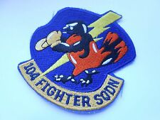RAF /USAF  aviation squadron cloth patch   104 FIGHTER SQDN