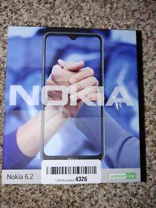 Nokia 6.2 Android 64 GB 4 GB Triple Camera Unlocked Smartphone Ice Blue Dual SIM