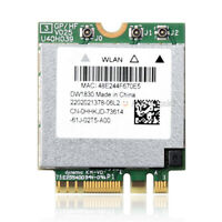 Dell DW1830 802.11AC WLAN+BT NGFF WIFI Card BCM943602BAED GKCG2 For XPS 15 9550