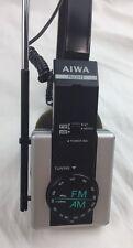 Vintage Aiwa 2 Band Stereo Radio Foldable Headphones Model HR-S01Mk11 **Works**