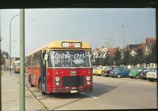 U72 - Dia slide original 35 mm bus autobus touringcar: NMVB, Maaseik, 1979