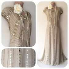NWT Joanne Hope Sequin Beaded Embellished Dress 20's Gatsby in 18 Deco Flapper