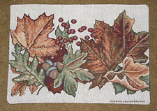 Festival of Leaves ~ Autumn Fall Tapestry Placemat