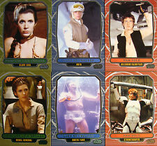 STAR WARS GALACTIC FILES SERIES 2 VARIANT CHASE 3 CARDS SET #463 #481 #510