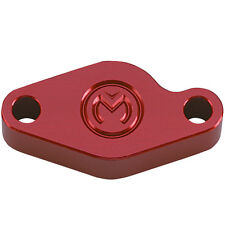 HONDA ATC200X ATC 200X 350X ATC350X REAR E-BRAKE EMERGENCY BLOCK OFF PLATE RED
