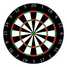 DARTS DARTBOARD IRON ON T SHIRT TRANSFER