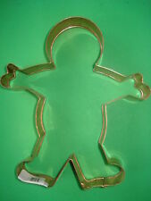 WILLIAMS SONOMA COPPER COOKIE CUTTER GINGERBREAD BOY