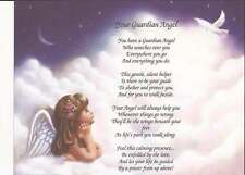 Your Guardian Angel Poem Choose From Backgrounds Daughter, Granddaughter, Baby