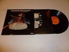 AVERAGE WHITE BAND - Warmer Communications - 1978 UK 9-track vinyl LP