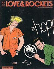 LOVE & ROCKETS #28 (1988) Fantagraphics B&W comics magazine VG+/FINE-