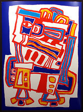 """Jacques Soisson """"Hurle Lume"""" Signed Numbered Fine Art Print 1981 Make Offer!"""