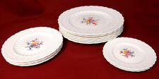 Copeland Spode's Jewel ANN HATHAWAY Dinner Salad Butter Plates Dishes Lot 12 EXC