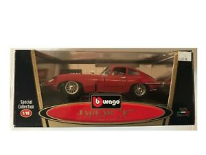1961 Jaguar E Coupe 1/18 diecast by Burago