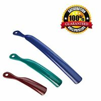 "3 Assorted Sizes Shoehorns Durable Sturdy Shoe Horn Set 7"",9"" and 14"""