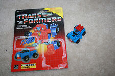 Vintage G1 Transformers Gears 1984 Truck w/Cardback - R515