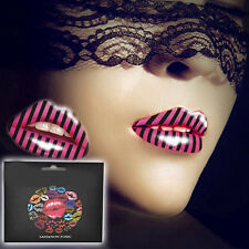 Beauty Lip Sticker Temporary Tattoo Sticker Transfers Lipstick Art Party Supply