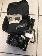 Vintage Canon TC-8000 Motor Drive, Red Eye Reduction with Flash & Carry Case