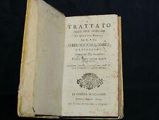 Libro Trattato della Pace Interiore Ambrogio Lombez Cappuccino Leszczyńska 1789