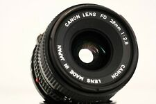 CANON LENS FD 28mm f2,8 - lens made in Japan