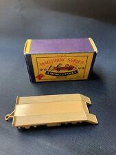 Vintage Matchbox Moko Lesney No. 16b Super Atlantic Trailer Tan in Original Box