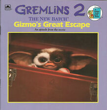 Gremlins 2 The New Batch - Gizmo's Great Escape Book