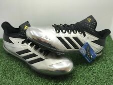 2546226cc71 Adidas Adizero Afterburner 4 Faded Black BY3677 Men s Baseball Cleats Size  11.5