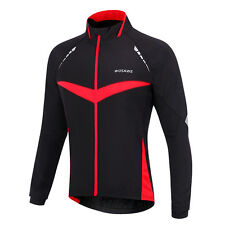 Men's Waterproof Windproof Winter Warm Thermal Wind Coat Cycling Jacket Jersey