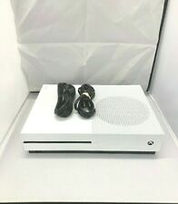 Microsoft Xbox One S 500GB White Console HDMI and Power Cord Only