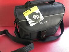 SONY LCS CSF Soft Black Carry Case for Nex and Handycam BRAND NEW..